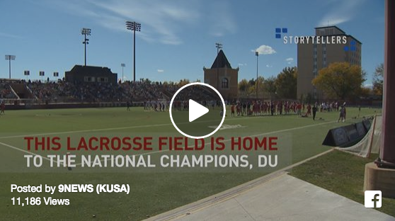 Special Needs Athletes Have a Blast Playing With University Of Denver Lacrosse Team