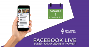 Facebook Live on SUDEP: Knowledge is Power @ Facebook