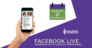 Facebook Live: Working with School Personnel @ Facebook