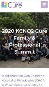 KCNQ2 Cure Family and Professional Summi @ Sheraton Philadelphia University City
