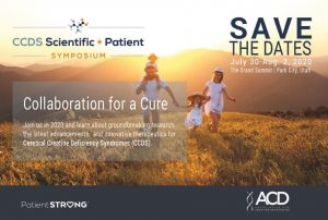 Cerebral Creatine Deficiency Syndromes (CCDS) Scientific + Patient Symposium @ The Grand Summit