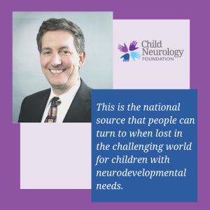 Getting to know the CNF team – Phillip Pearl, MD