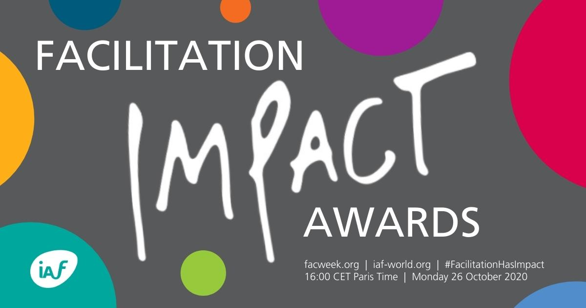 Creating a Culture of Collaboration: Paul Cooper receives Facilitation Impact Award with CNF